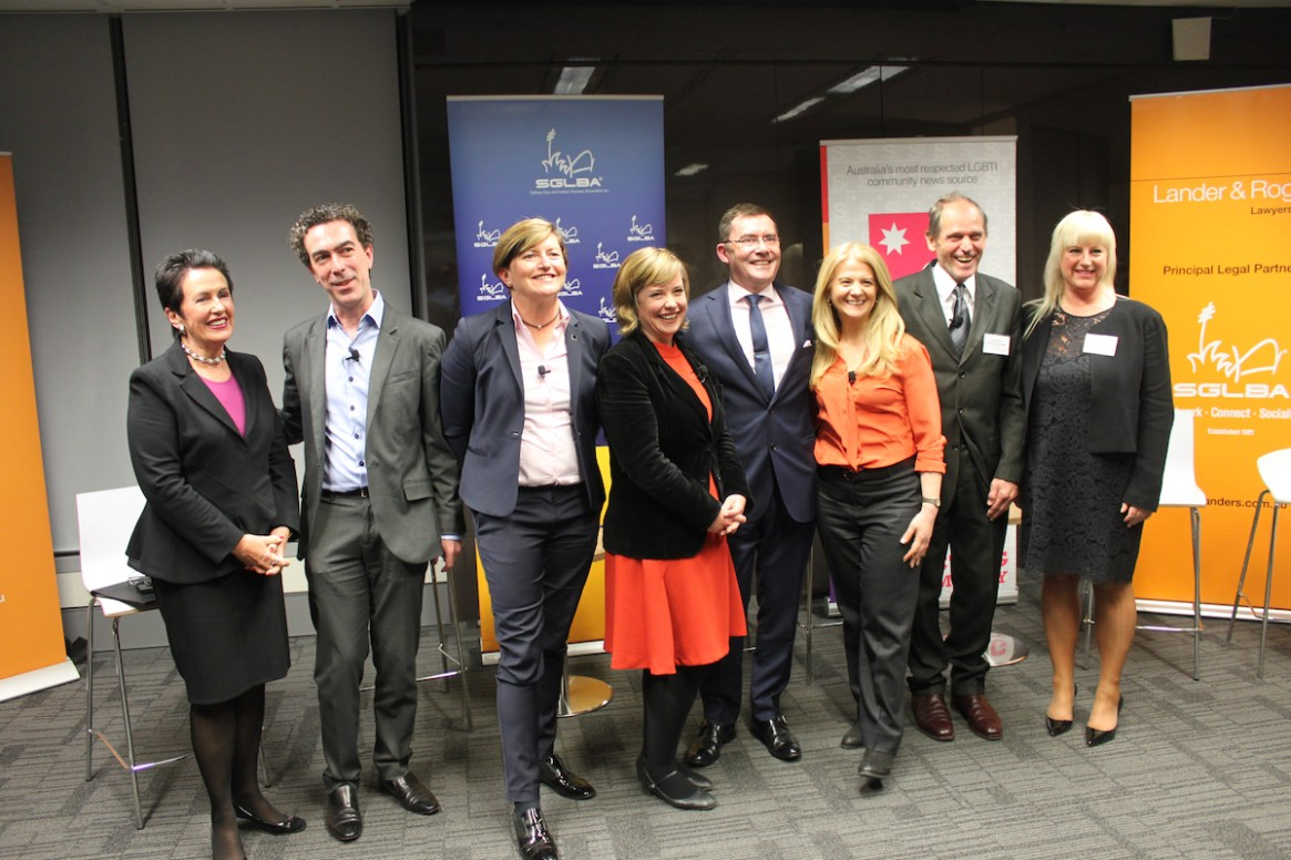 An evening with the City of Sydney 2016 Mayoral Candidates held at Lander & Rogers.