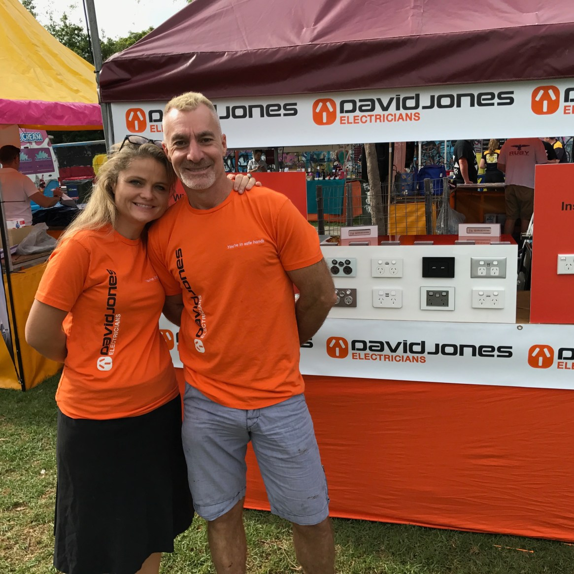 David and his team from DJ Electricians joined us again this year. David is a Networker Member of the SGLBA.