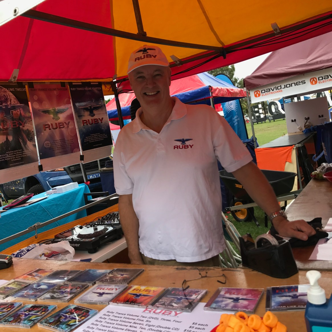 DJ Ruby was an extremely popular stall at today's Fair Day. We look forward to them joining us in Business Avenue every year. DJ Ruby is a Networker Member.
