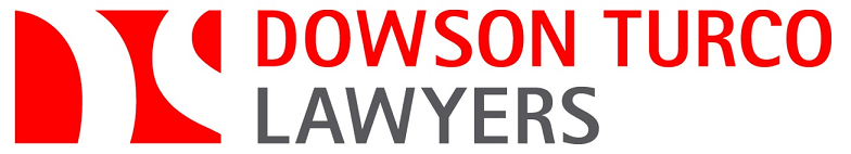 LOGO Dowson Turco red and white