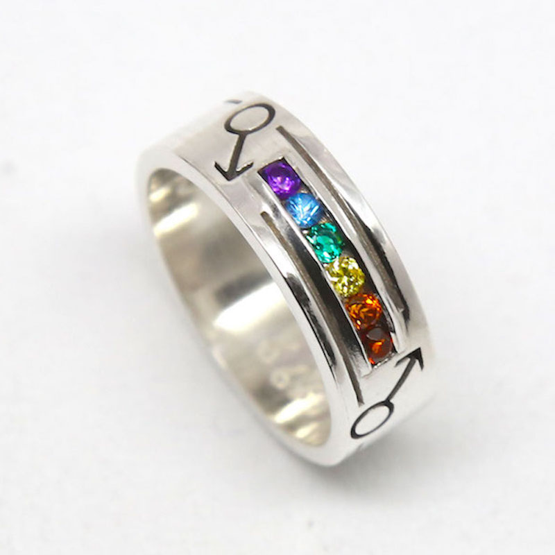 SQUARE Michele Jewellery Rainbow Ring 800x800pxl