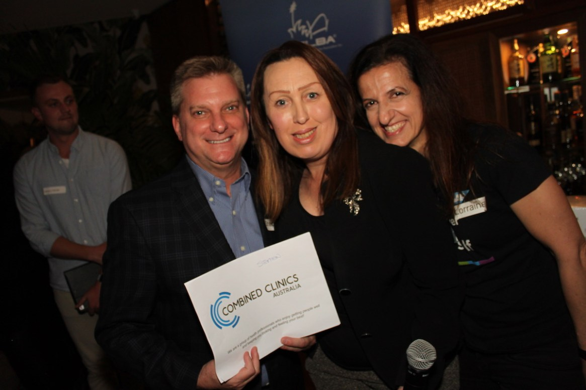 Door prize winner - Stephen Mally from Fundraising Force | Sponsored by SAP