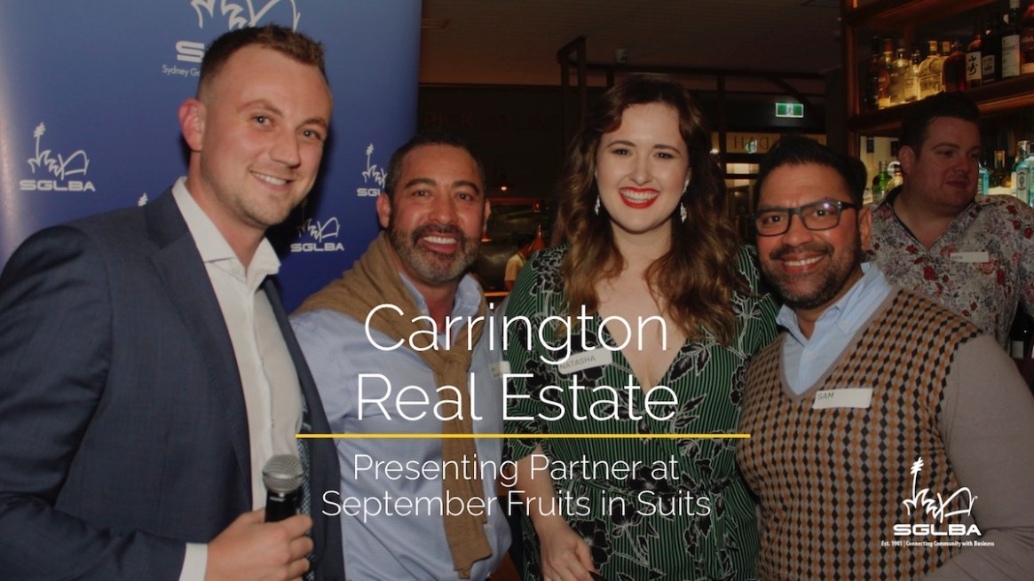 Fruits in Suits with Carrington Real Estate
