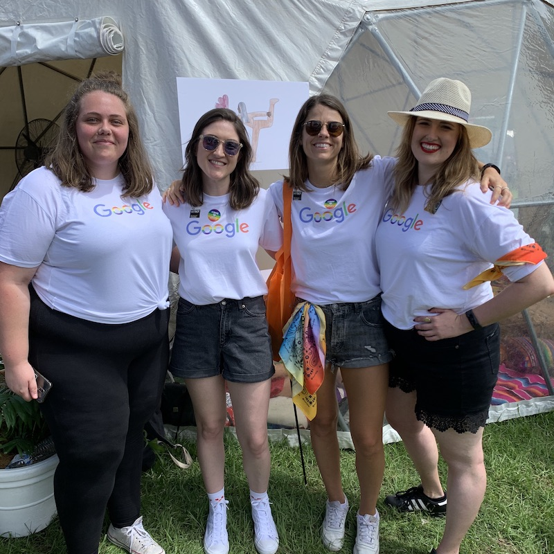 We caught up with a group of Gayglers from Google at the 2020 Fair Day.