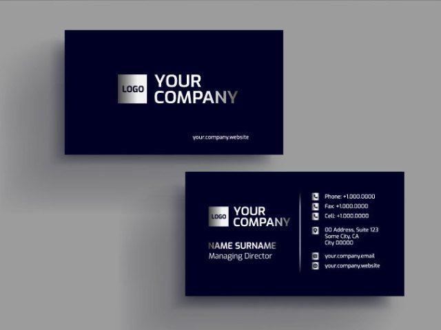 #GraphixMadeEazy; How to Create Business Card Design in Corel Draw