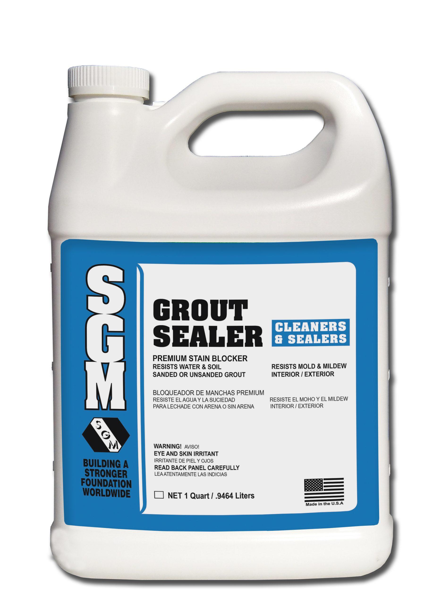grout sealer sgm inc