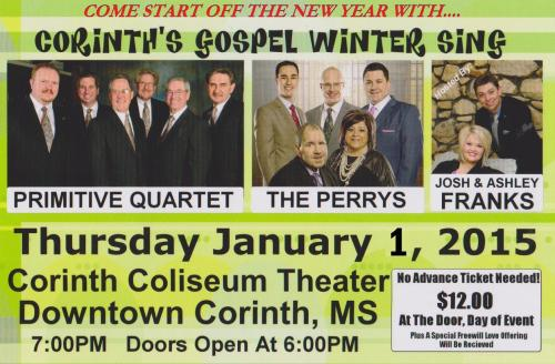 Corinth Gospel Winter Sing