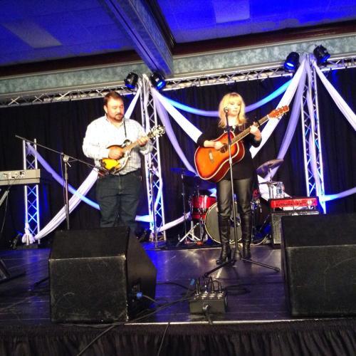 Christy Sutherland and Matt Dudney at the 2014 Diamond Awards