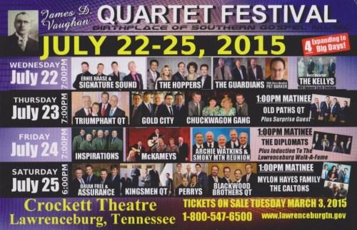 Vaughan Qt Festival 2015