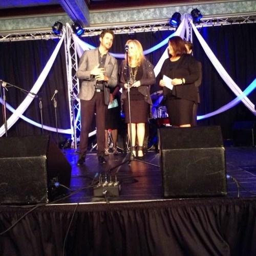 Karen Peck and New River at Diamond Awards. Courtesy Robert York