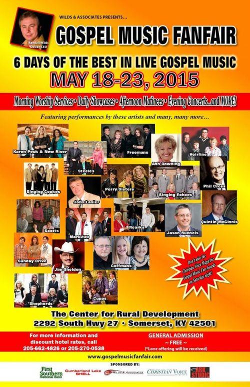 Gospel Music Fanfest 2015