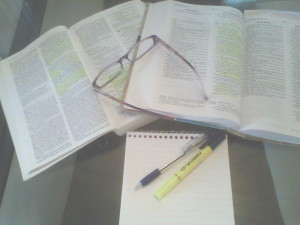 Study books edited