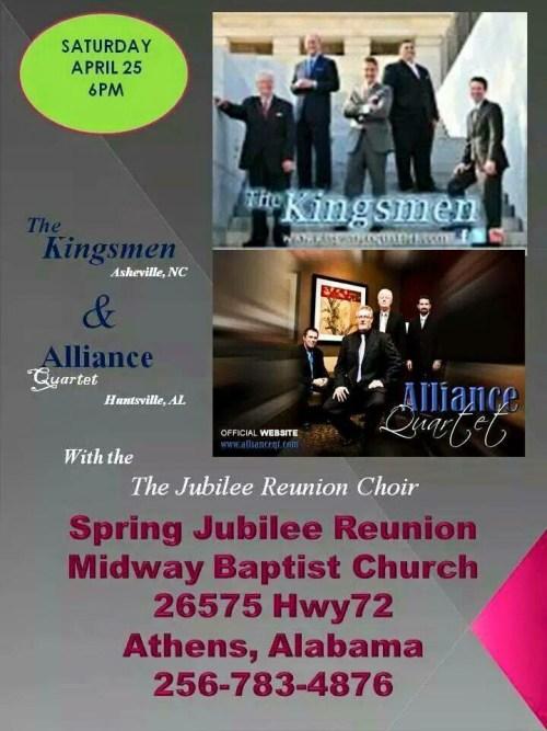 Spring Jubilee Reunion