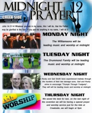 2015 Midnight Prayer