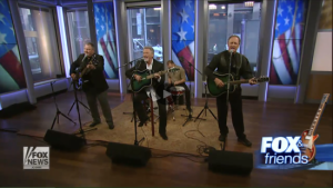 """LARRY GATLIN & THE GATLIN BROTHERS PERFORM """"AN AMERICAN WITH A REMINGTON"""" ON FOX & FRIENDS"""