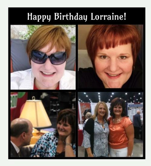 Happy Birthday Lorraine Walker