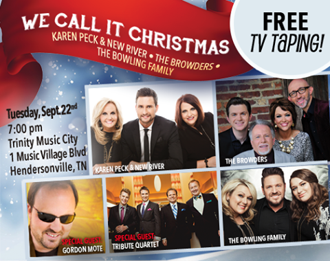 DMG Concerts Announces We Call It Christmas TV Taping