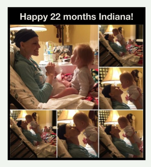 Someone is celebrating 22 months today!