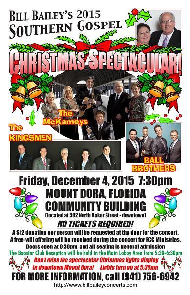 Bill Bailey's Southern Gospel Christmas Spectacular