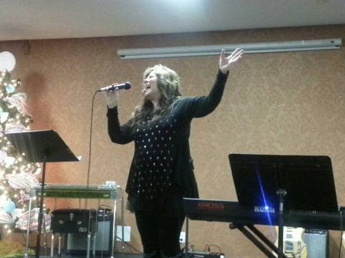Cathy J Reynolds at the Country Gospel Music Association banquet