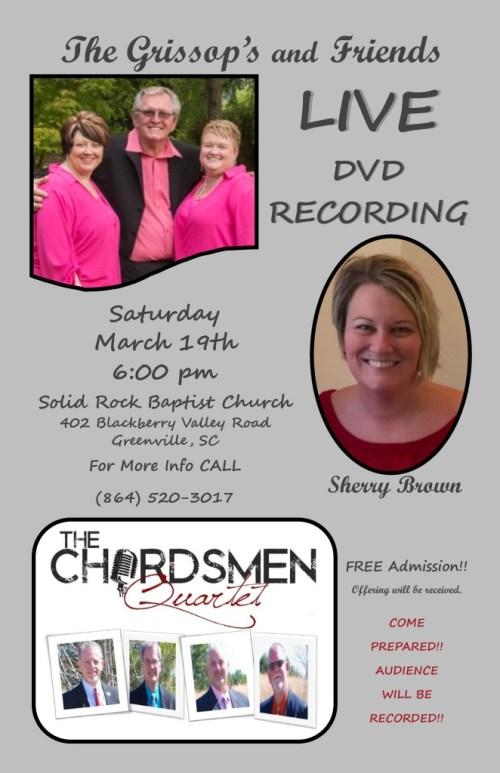 The Chordsmen Quartet Live DVD