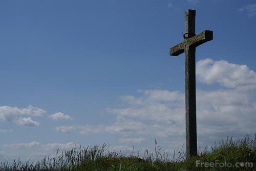Easter and the Cross. An Act of Love