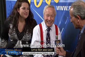 Little Roy Lewis and Lizzy Long On Gospel Music Today