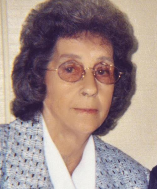 Grace English, mother of Michael and Biney English