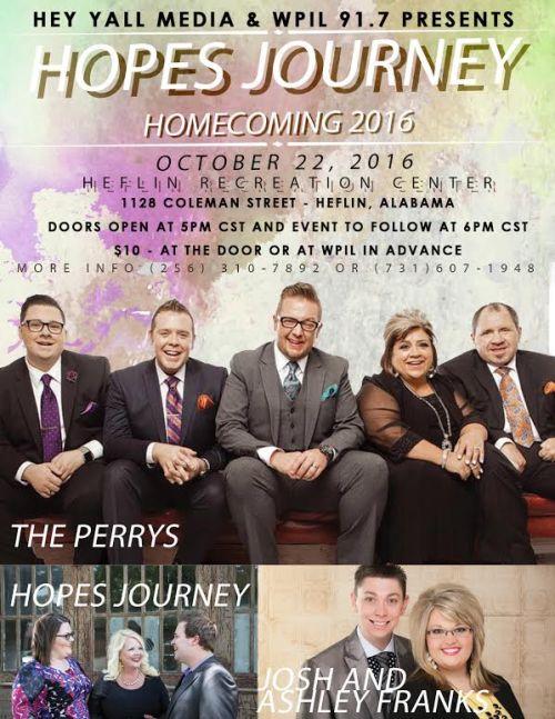 Hope's Journey Homecoming