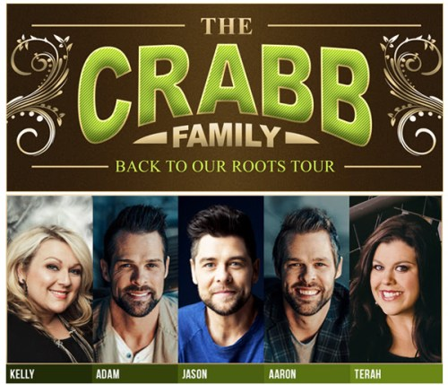 THE CRABB FAMILY UNVEILS BACK TO OUR ROOTS 2017 TOUR