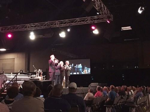 Mark Trammell Quartet at Great Western Fan Fest. Taken by Derek Simonis.