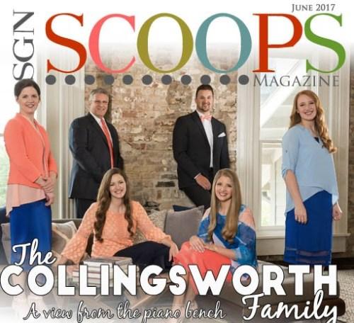 Collingsworth Family appear in SGNScoops June 2017. Lorraine Walker, Editor