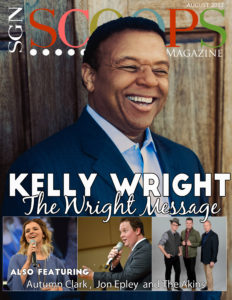 Kelly Wright in August 2017 SGNScoops Magazine