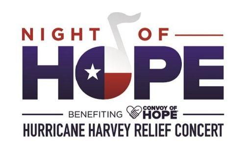 NIGHT OF HOPE HURRICANE HARVEY RELIEF CONCERT