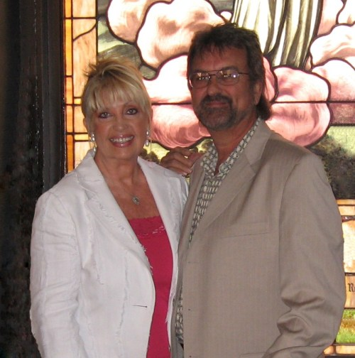 Beckie Simmons and Glen Bates, a dynamic duo in Gospel Music.