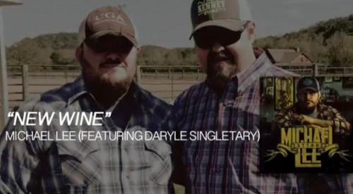 Daryle Singletary and Michael Lee