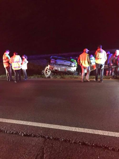 Victoria Bowlin and Husband Aaron Involved in Near Head-On Collision
