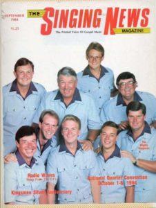 Gary Dillard with the Kingsmen 1984