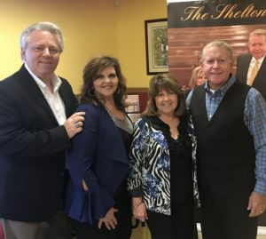 The Sheltons with Charlie Griffin from Classic Records LLC