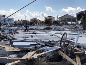 Hurricane Michael aftermath