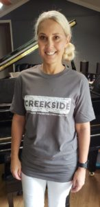 Creekside event t-shirts available now