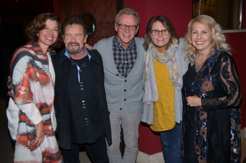"Pictured (l-r) following the presentation of ""Russ Taff: I Still Believe"" at Franklin, Tennessee's historic Franklin Theatre: Amy Grant, Russ Taff, Steven Curtis and Mary Beth Chapman, and Tori Taff."