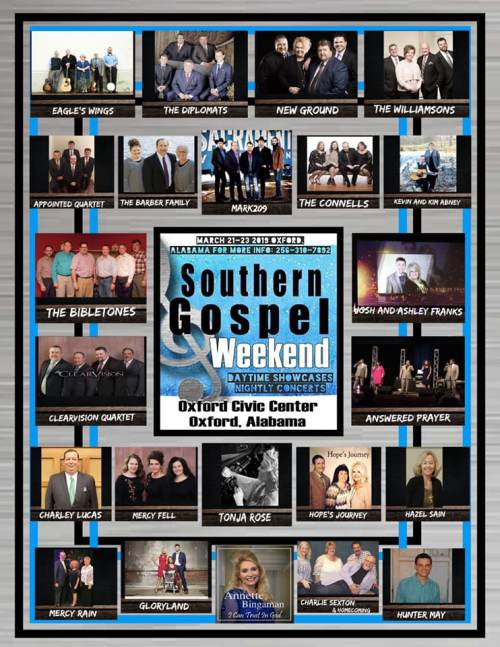 Are You Ready For Southern Gospel Weekend 2019