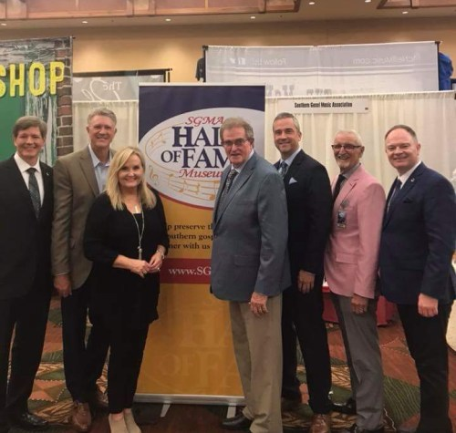 Pictured (left to right) are: Travis Bridgeman, Arthur Rice, Karen Peck, Harold Timmons, Aaron Rich, Dean Adkins, and Rick Shelton