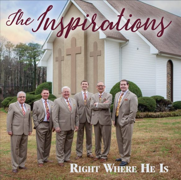 The Inspirations tell stories of God's presence on Right Where He Is