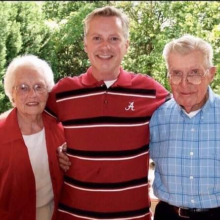 Lee Black of Legacy Five and parents