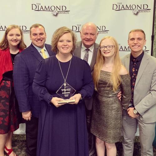 Diamond Awards aired on WATC