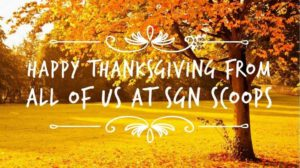Lorraine Walker: So this is November with Thanksgiving and Christmas