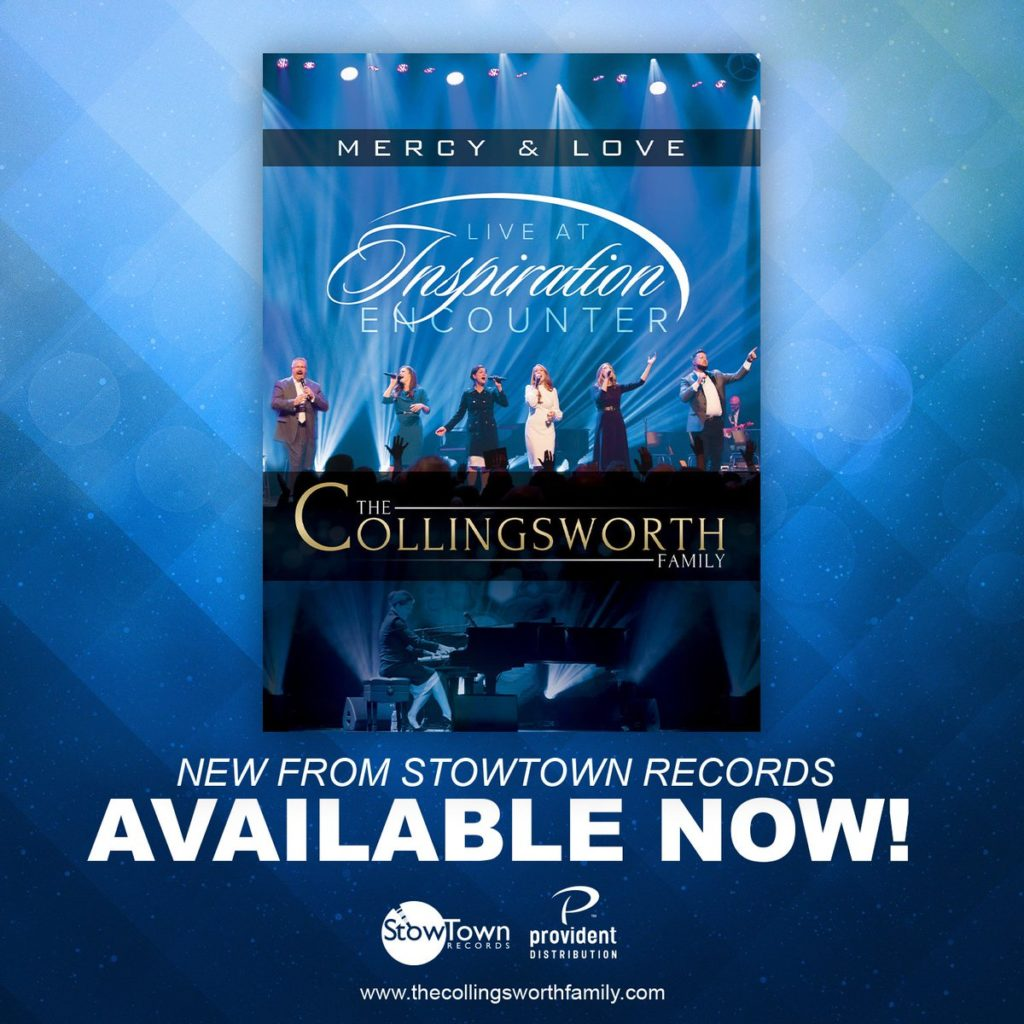 """The Collingsworth Family Presents """"Mercy & Love Live at Inspiration Encounter"""" DVD"""
