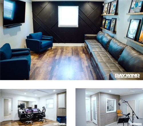 Daywind Studios Reopens Fully Renovated Studio Complex in Hendersonville, TN